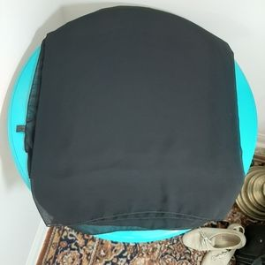 Black multi-use beach wrap/ use to sit on